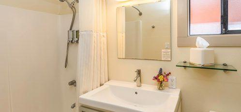 Humboldt room's bathroom sink