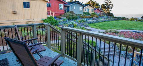 Humboldt room's deck