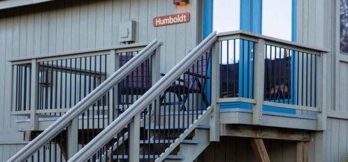 Humboldt room's exterior