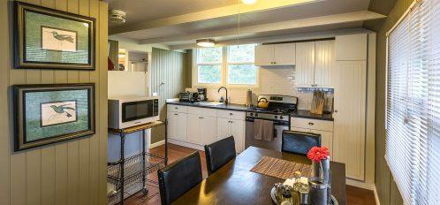 Little River House's kitchen