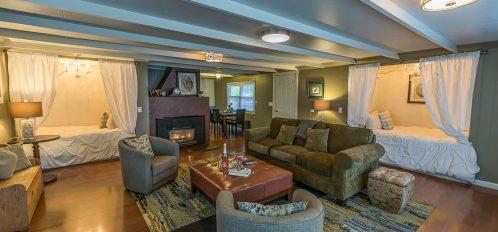 Little River House living room